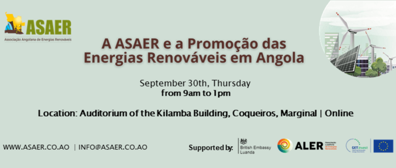 ASAER and the promotion of renewable energy in Angola